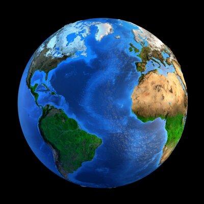 Quadro Landforms Pianeta Terra