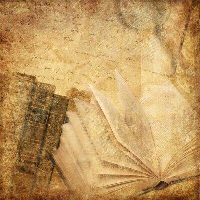 Quadro libri antichi