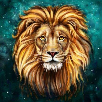 Quadro lion tlo