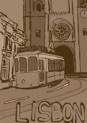 Quadro Lisbona annata