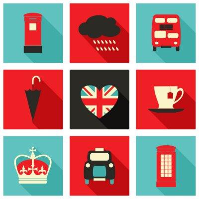 Quadro Londra Icons Collection