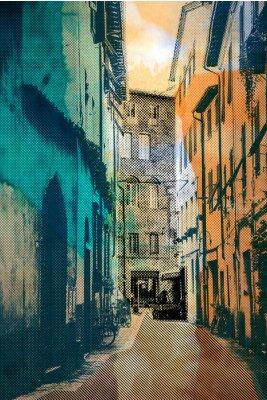 Quadro Lucca, cartolina