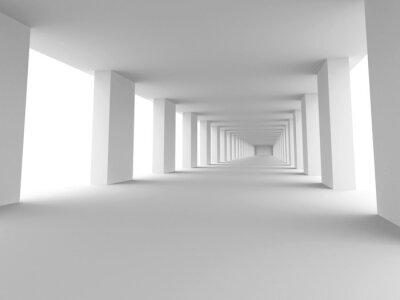 Quadro lungo corridoio