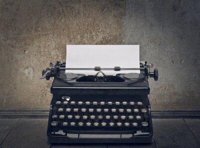 Quadro macchina da scrivere