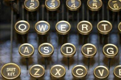 Quadro macchina da scrivere / chiavi