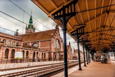 Quadro Main station of Gdansk
