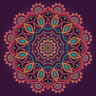 Quadro Mandala ornamentale