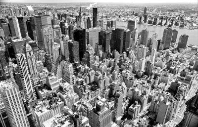 Quadro Manhattan, New York City. USA.