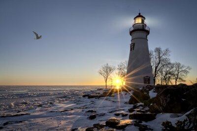 Quadro Marblehead Lighthouse Alba