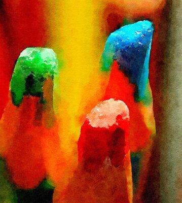 Quadro Matite colorate