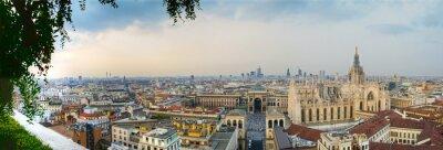 Quadro Milano Centro panoramica