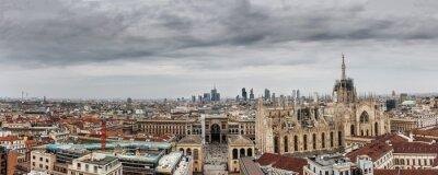 Quadro Milano panoramica