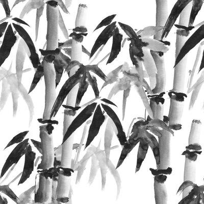 Quadro modello di bambù