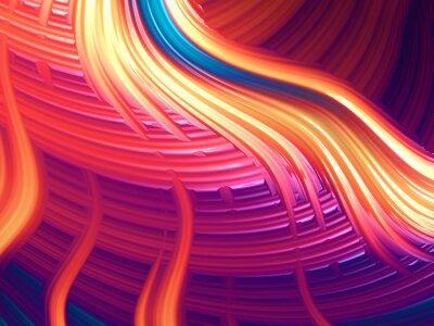 Quadro Moderna astratta energico wallpaper / sfondo