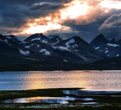 Quadro Montagne in Norvegia
