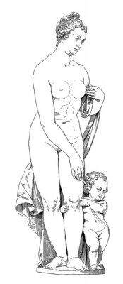 Quadro Mother & Child