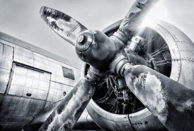Quadro motore di un aeromobile