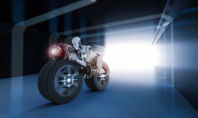 Quadro movimento della velocità del robot