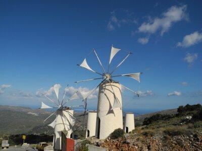 Quadro Mulino a vento nel Lasithi Plateau