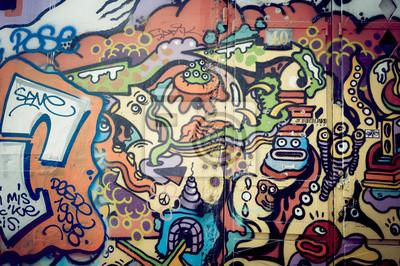 Quadro Mur de graf Coloré