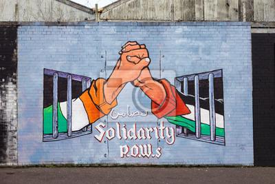 Quadro Murales di Belfast