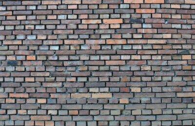 Quadro Muro di mattoni - sfondo