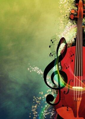 Quadro Musica di sottofondo
