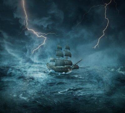 Quadro nave fantasma