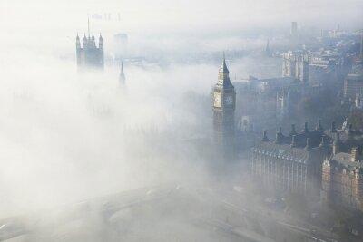 Quadro Nebbia pesante colpisce Londra