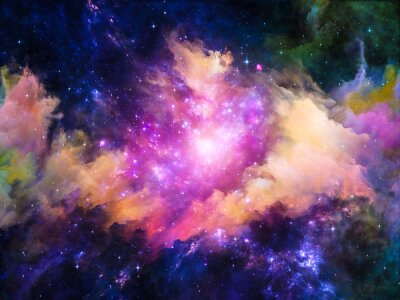 Quadro Nebula design