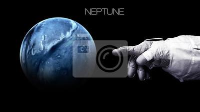 Quadro Neptune - Alta risoluzione migliore qualità pianeta del sistema solare. Tutti i pianeti disponibili. Questi elementi immagine fornita dalla NASA