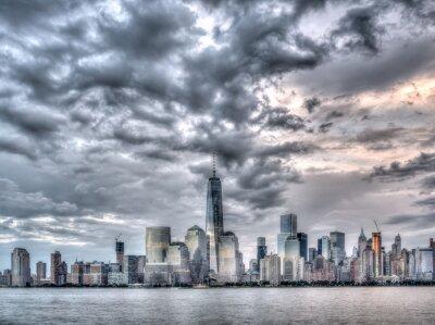 Quadro New York City il 4 luglio 201