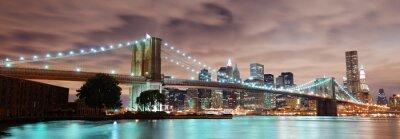 Quadro New York City panorama
