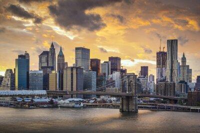 Quadro New York City Skyline