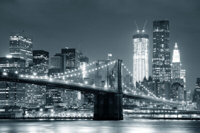 Quadro New York Ponte di Brooklyn