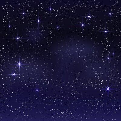 Quadro Notte cielo stellato