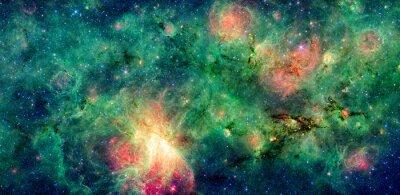 Quadro Nube scura M17 SWEX e M17 nebulosa. Ritoccate e pulito la versione originale di immagine dalla NASA