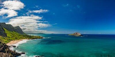 Quadro Oahu costa orientale orizzontale