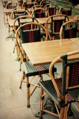 Quadro old-fashioned terrazza Cafe