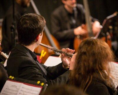 Quadro Orchestra sinfonica esecuzione.