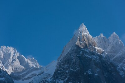 Quadro paesaggio di montagna