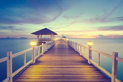 Quadro paesaggio marino