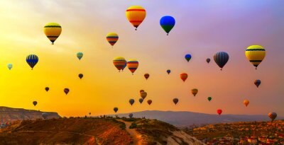 Quadro palloncini CappadociaTurkey.