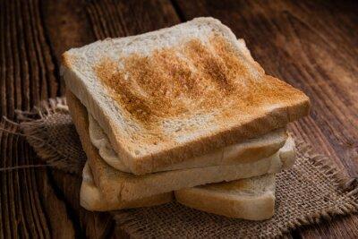 Quadro pane tostato tostato