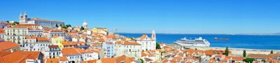 Quadro Panorama from Lisbon in Portugal