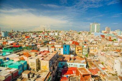 Quadro Panorama of Havana city Vedado District