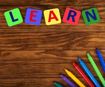 Quadro parola imparare