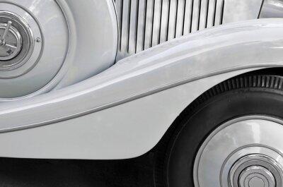 Quadro Particolare di una vecchia carrozzeria auto