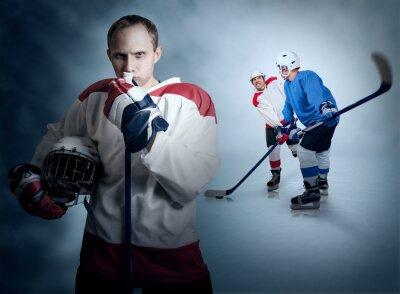 Quadro Partita di hockey su ghiaccio momento