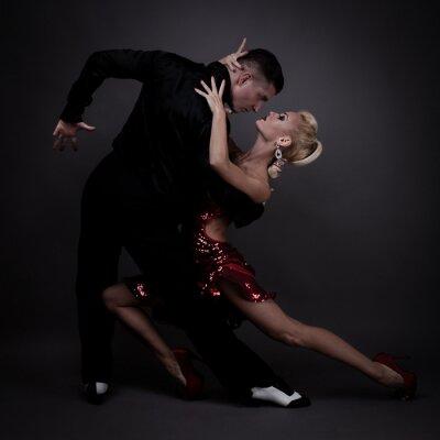 Quadro partner di danza